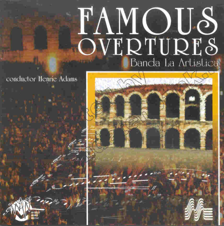 New Compositions for Concert Band #26: Famous Overtures - clicca qui