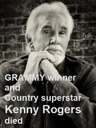 2020-03-26 Kenny Rogers died. - clicca qui